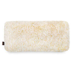 UGG® Hailey Bolster Throw Pillow in Cream/Gold