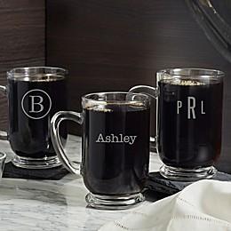 Classic Celebrations Glass Coffee Mug