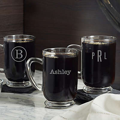 Classic Celebrations Glass Coffee Mug