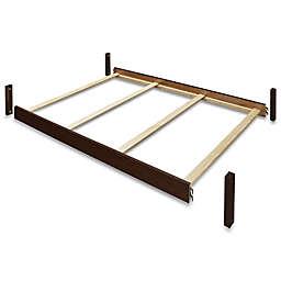 Sorelle Vista Elite Crib and Changer Full-Size Bed Rail in Espresso