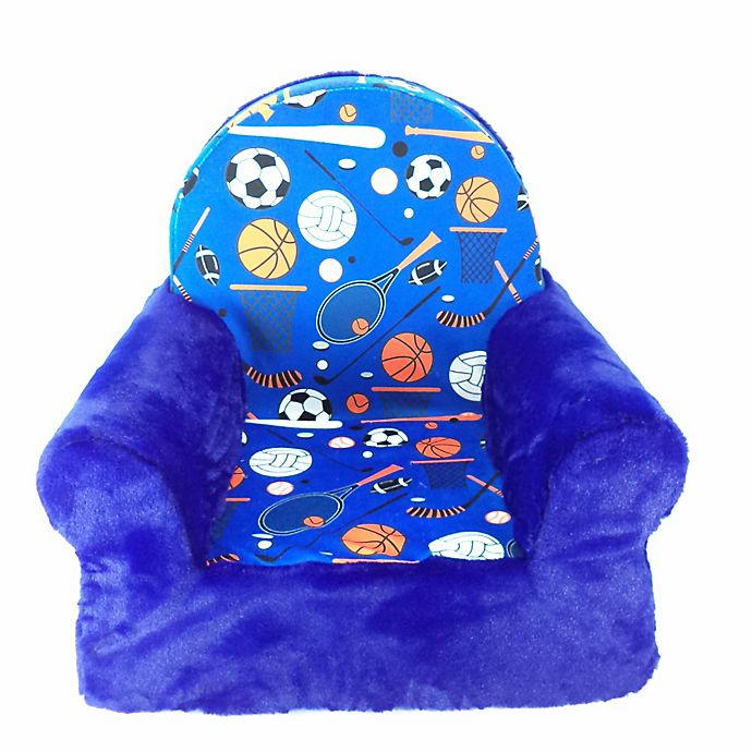 Alternate image 1 for Sweet Seat Sports Chair in Blue
