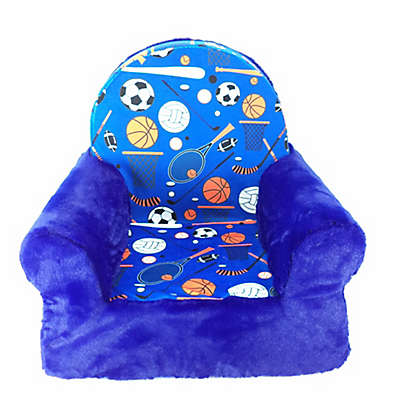Sweet Seat Sports Chair in Blue