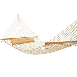 Tropic Island 13-Foot Natural Cotton Rope Hammock