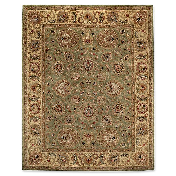 Alternate image 1 for Capel Rugs Monticello Agra 9' x 12' Hand Tufted Area Rug in Pistachio Green
