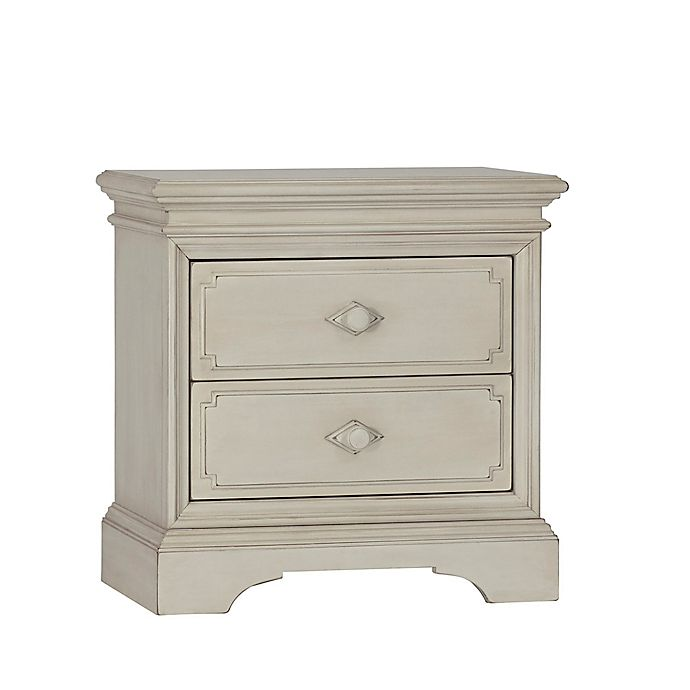 Alternate image 1 for Biltmore Amherst 2-Drawer Nightstand in Antique White