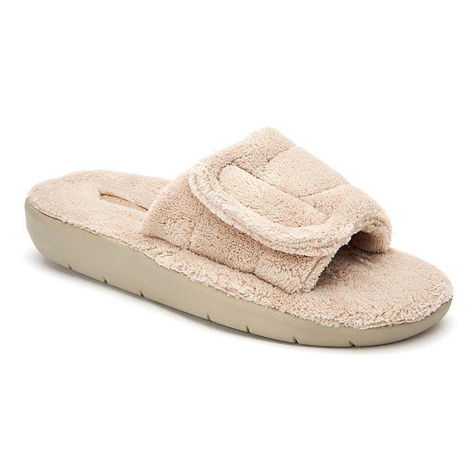 Alternate image 1 for Copper Fit® Women's Size Medium Slide Slipper in Taupe