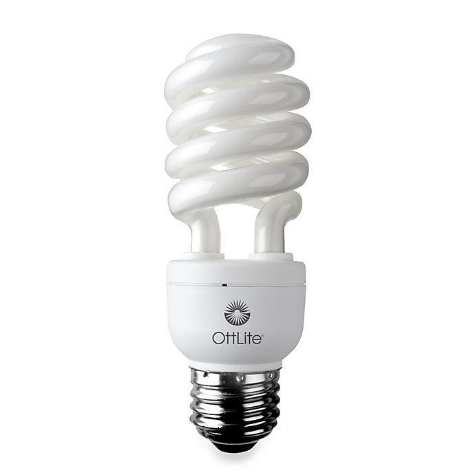 Alternate image 1 for OttLite® High Definition 15-Watt Edison CFL Swirl Bulb