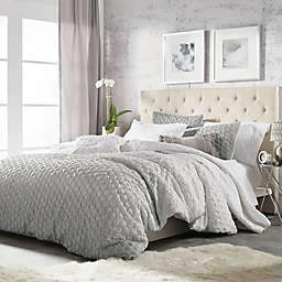 Ombre Honeycomb Reversible Comforter Set