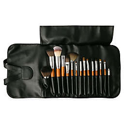 Vanity Planet Palette 15-Piece Professional Makeup Brush Set