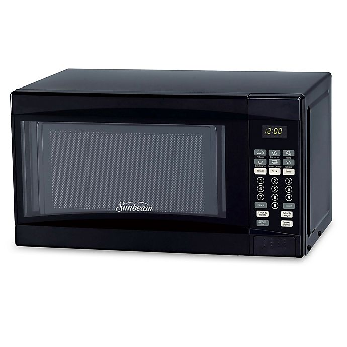 Alternate image 1 for Sunbeam® 0.7 cu. ft. Microwave Oven in Black
