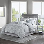 Madison Park Emory King Comforter Set in Grey