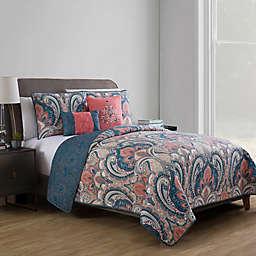 VCNY Home Casa Re Àl Reversible Quilt Set