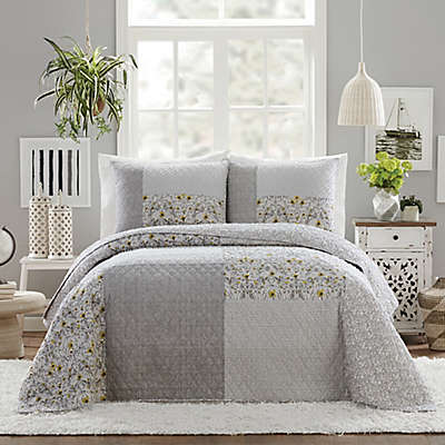 Jessica Simpson Silver Garden Quilt