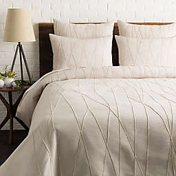 Surya Mio Embroidered Duvet Cover Set