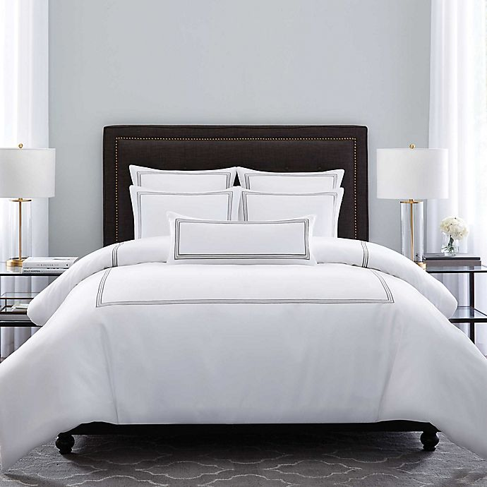 Wamsutta® Hotel Triple Baratta Stitch Comforter Set | Bed Bath