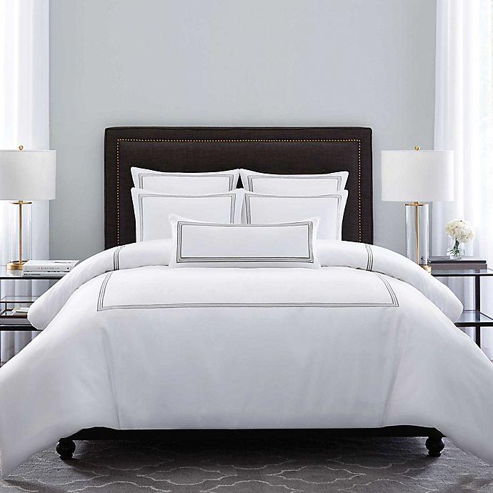 Alternate image 1 for Wamsutta® Hotel Triple Baratta Stitch Comforter Set
