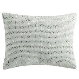 KAS Rooom Kemit Pillow Sham in Mint Green