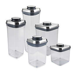OXO SteeLTM POP Square Food Storage Container