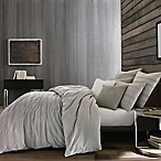 Kenneth Cole Thompson King Duvet Cover in Stone