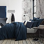 Kenneth Cole Reaction Home Mineral Full/Queen Duvet Cover in Midnight
