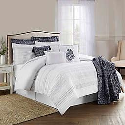 Lara Pleated Comforter Set