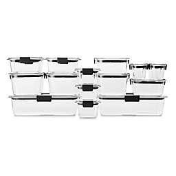 Rubbermaid® Brilliance 36-Piece Food Storage Container Set