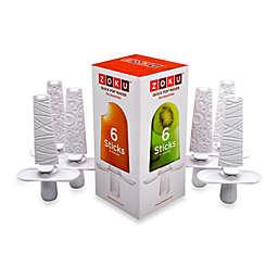Zoku® Quick Pop™ Sticks with Drip Guards (Set of 6)