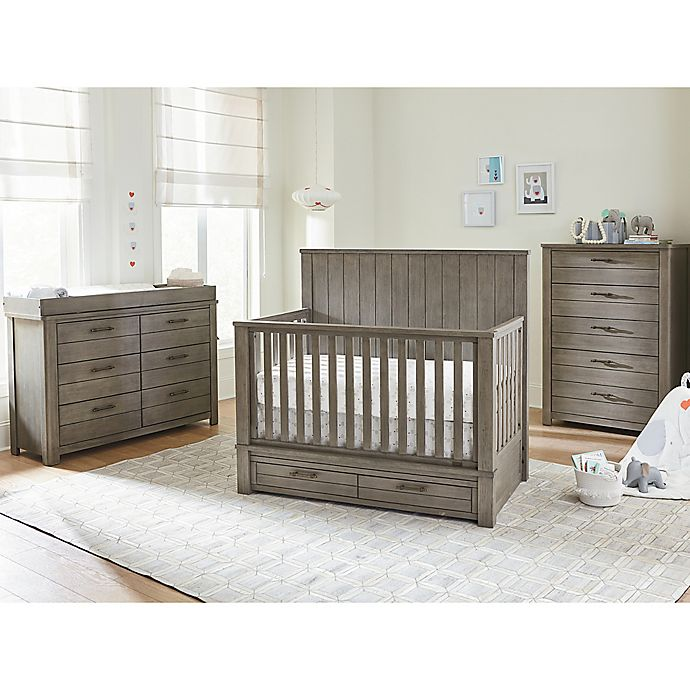 Alternate image 1 for Bassett Dreams Everest Nursery Furniture Collection in Smoke Grey
