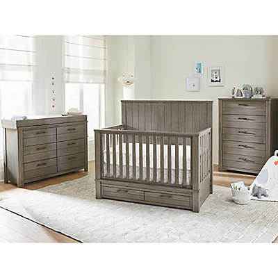 Bassett Dreams Everest Nursery Furniture Collection in Smoke Grey