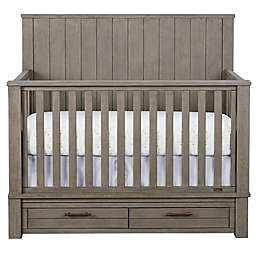 Bassett Dreams Everest 4-in-1 Convertible Storage Crib in Smoke Grey