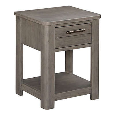 Bassett Dreams Everest Nightstand in Smoke Grey