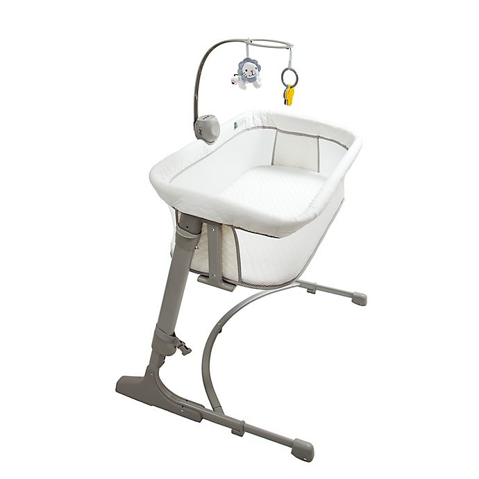 Alternate image 1 for Arm's Reach® The Co-Sleeper® Versatile Bassinet in Grey/White