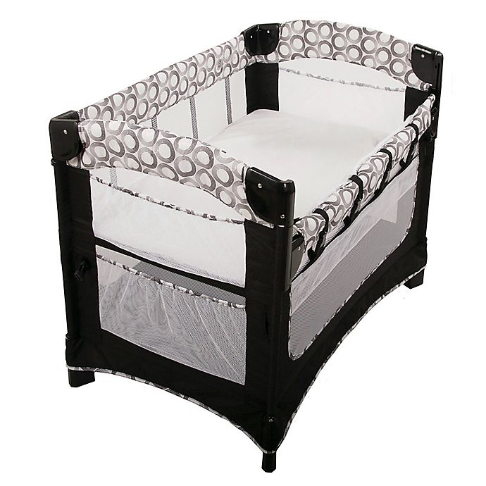 Alternate image 1 for Arm's Reach® Ideal Ezee™ 3-in-1 Co-Sleeper® in Black/White Circle
