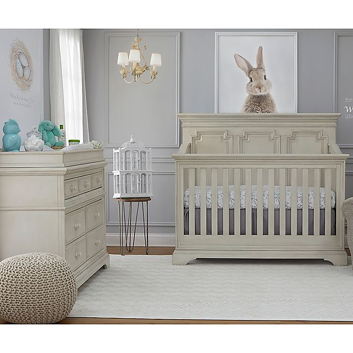 Biltmore Amherst Nursery Furniture Collection in Antique White - Biltmore Amherst Nursery Furniture Collection In Antique White