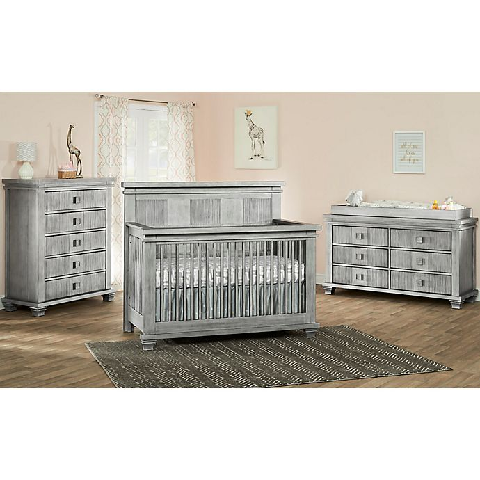 Alternate image 1 for Soho Baby Mayfield Nursery Furniture Collection in Antique Silver