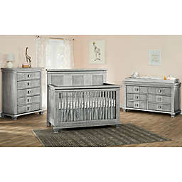 Soho Baby Mayfield Nursery Furniture Collection in Antique Silver