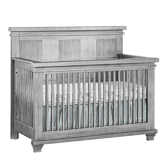 Alternate image 1 for Soho Baby Mayfield 4-in-1 Convertible Crib in Antique Silver