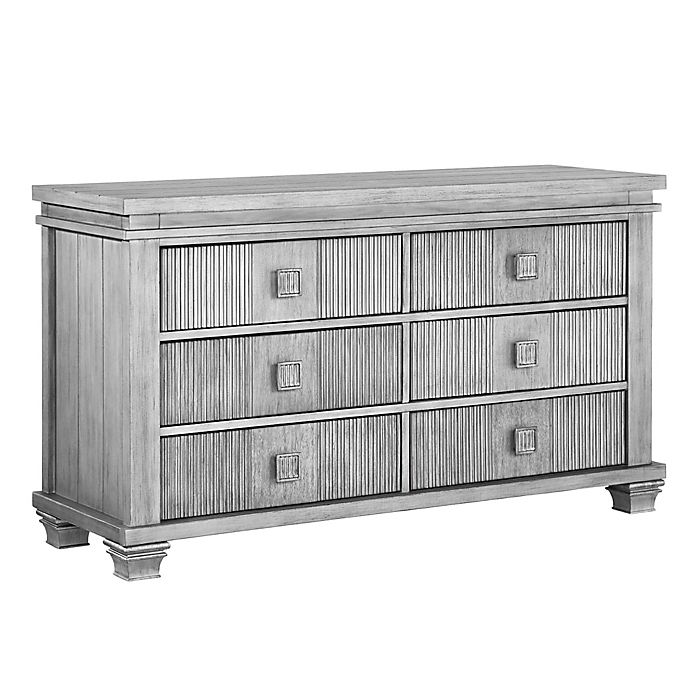 Alternate image 1 for Soho Baby Mayfield 6-Drawer Dresser in Antique Silver