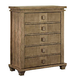 Soho Baby Mayfield 5-Drawer Chest in Amber Brown