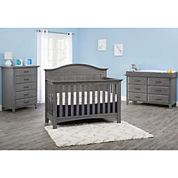 Soho Baby Chandler Nursery Furniture Collection In Graphite Grey