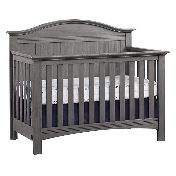 Alternate image 1 for Soho Baby Chandler 4-in-1 Convertible Crib in Graphite Grey