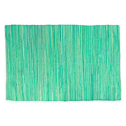 Karla Dubois® Shea 5' x '8 Area Rug in Aqua Breeze