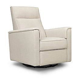 Million Dollar Baby Classic™ Willa Swivel Recliner in Wheat Linen
