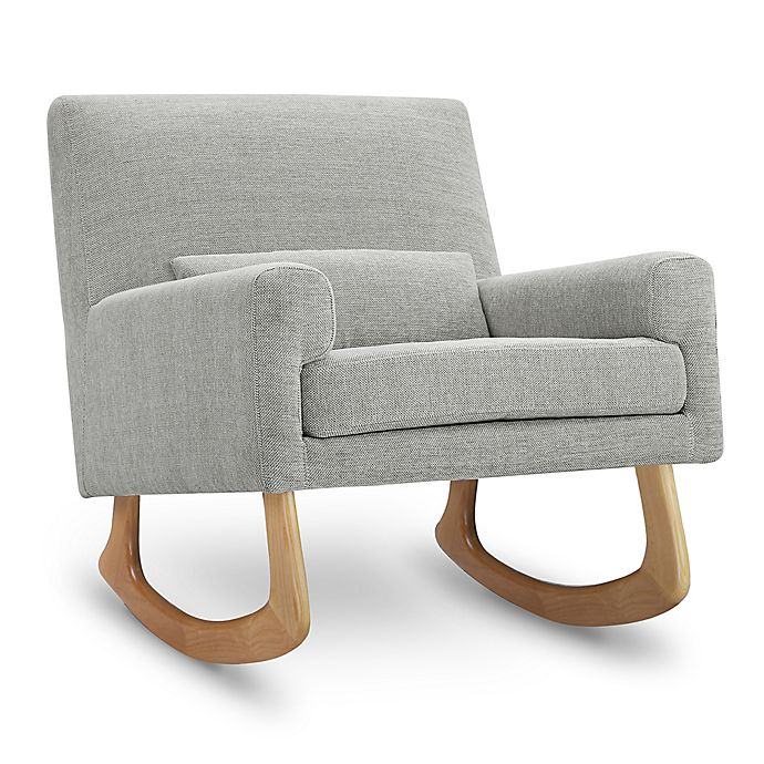 Swell Nursery Works Sleepytime Rocker In Light Grey Weave With Pdpeps Interior Chair Design Pdpepsorg