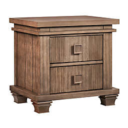 Soho Baby Mayfield 2-Drawer Nightstand in Amber Brown