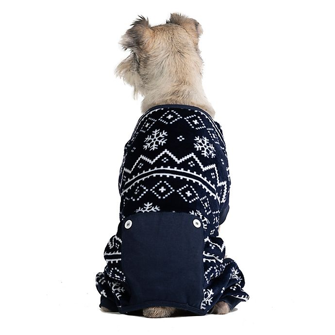 Alternate image 1 for Pawslife™ Fair Isle Pajama in Navy