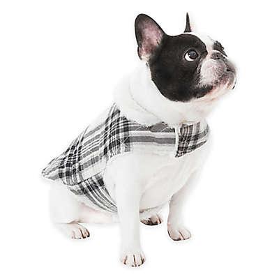 UGG® Dog Plaid Coat in Charcoal