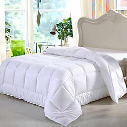 Swiss Comforts All Season Down Alternative Twin Comforter in White