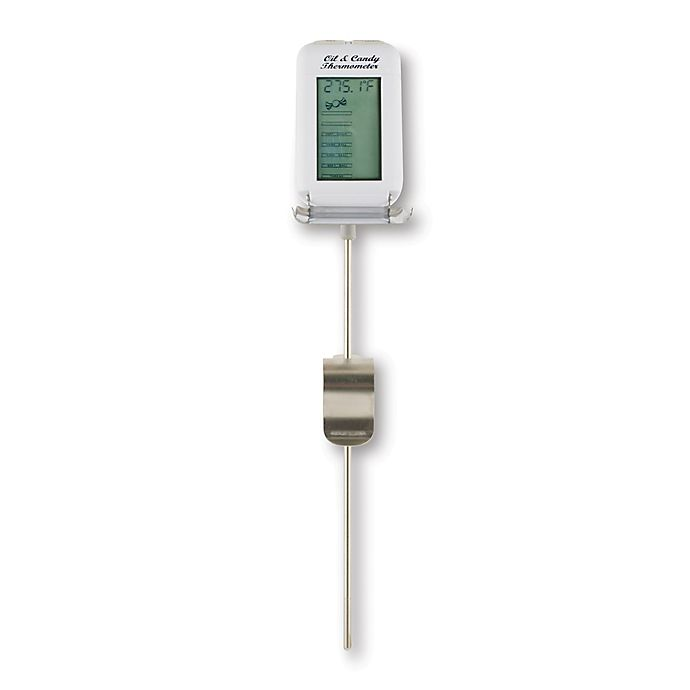 Redi Chek 174 Digital Oil And Candy Cooking Thermometer Bed