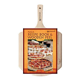Pizzacraft Pizza Peel with Recipe Book Set